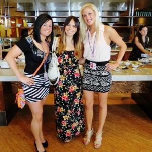 Amber, Paula, and me